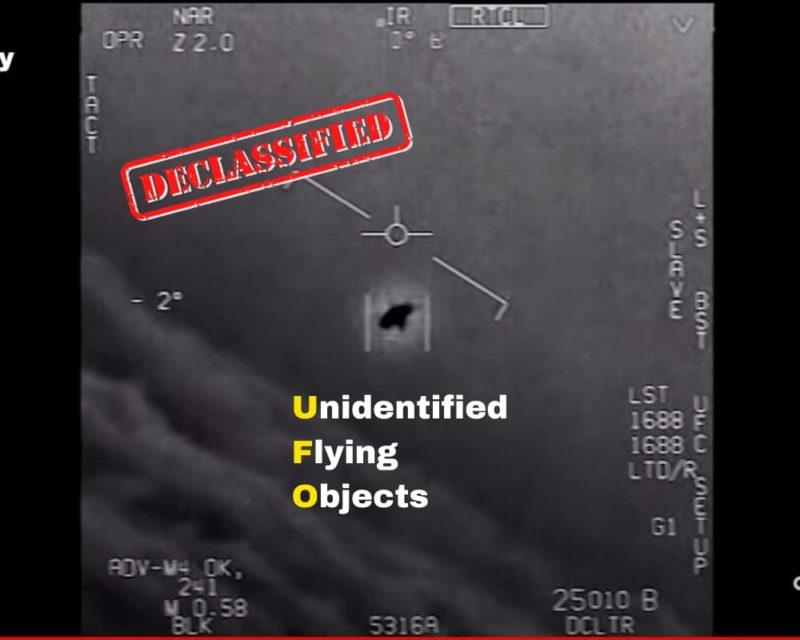米国防総省がUFO映像を本物と認めた!