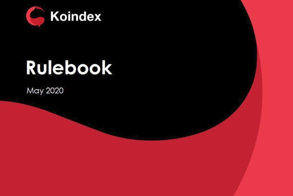 Koindex Rulebook English edition