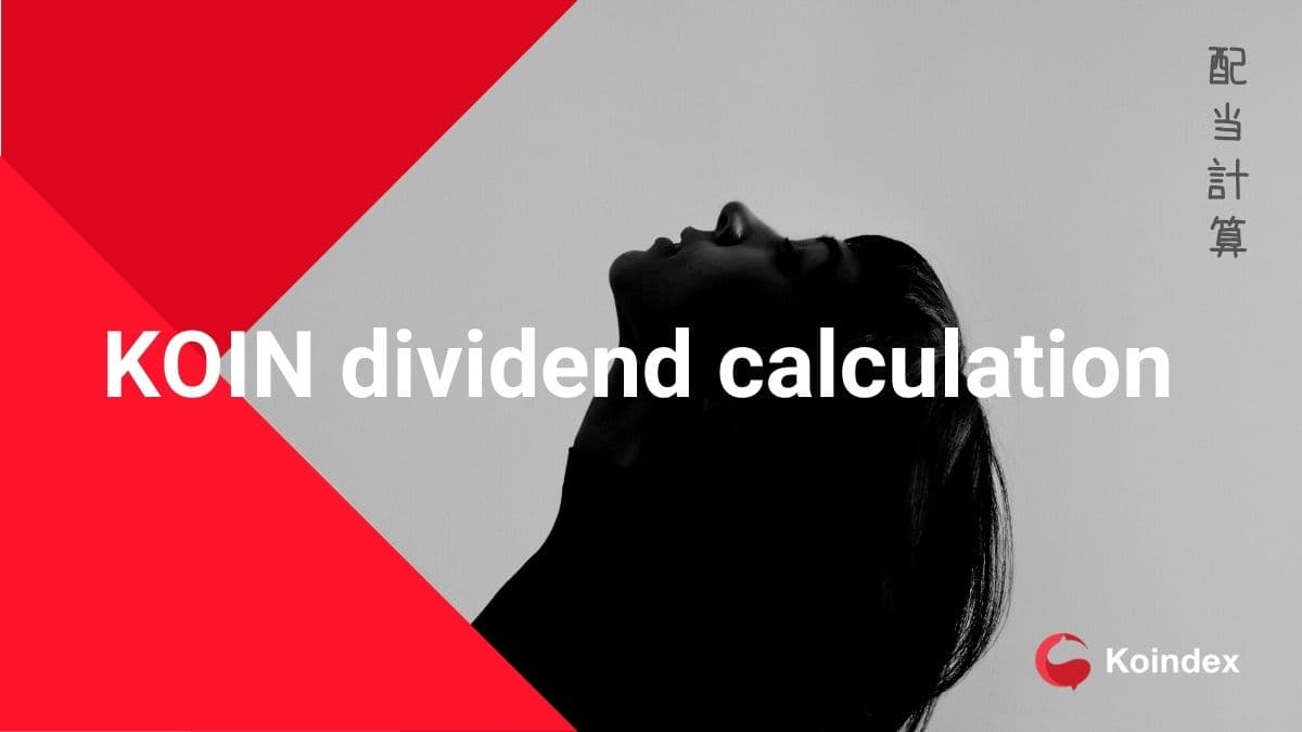 KOIN dividend calculation(KOIN配当計算)